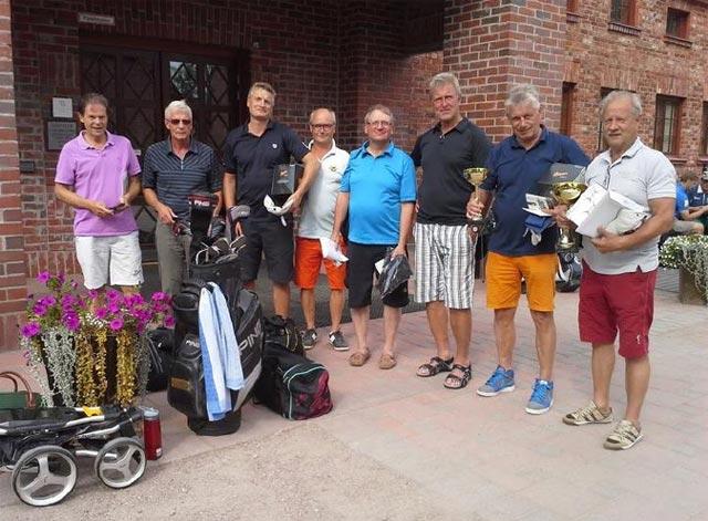 Starikat FOHA golf-mestarit 2014